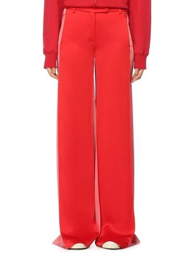 Valentino Bol Paça Pantolon Kırmızı